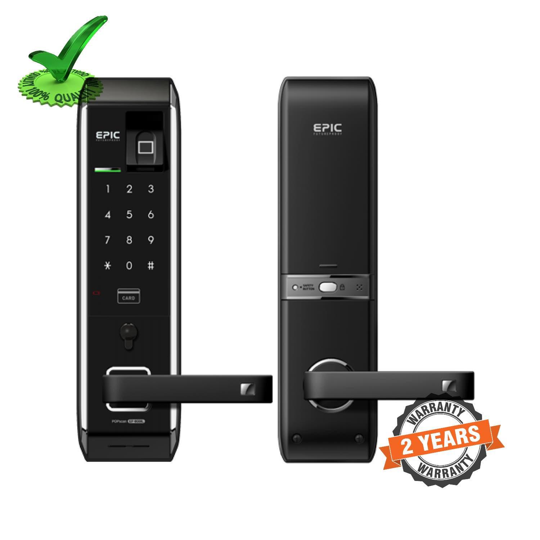 Epic EF-8000LB Motorised 3Bullet Finger Print Digital Door Lock