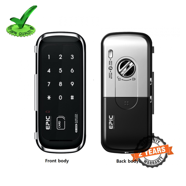 Epic ES-303G RF Card Digital Glass Door Lock
