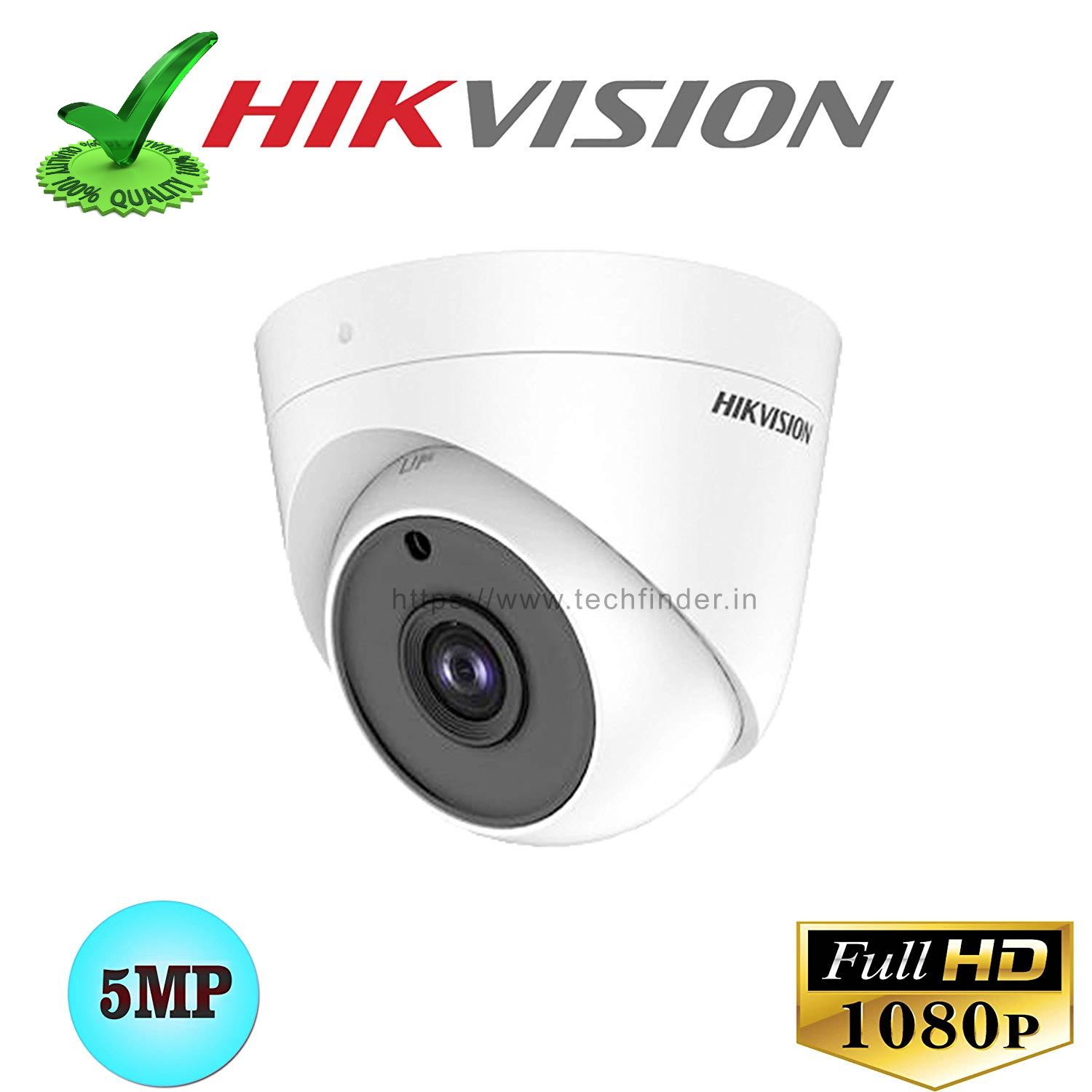 Hikvision DS-2CE5AH0T-ITPF 5mp Digital HD Dome Camera