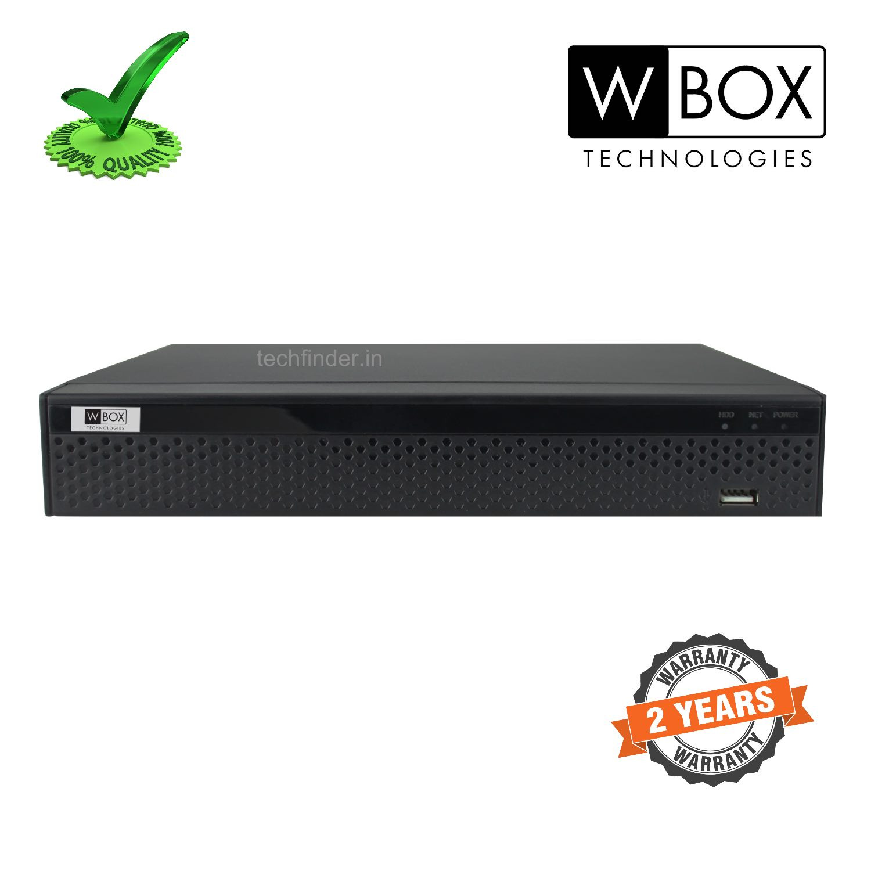 W Box WBC0E-CLDM08X1 8Ch 5mp 16ip 8TB 1 Sata  HD DVR
