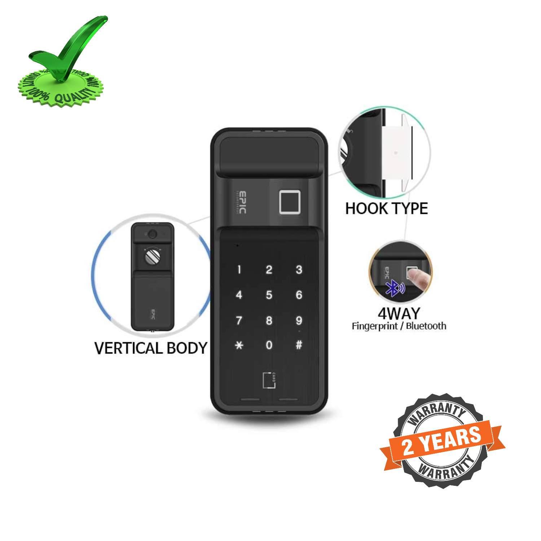 Epic ES-F500H 4way to Open Finger Print Digital Smart Door Lock