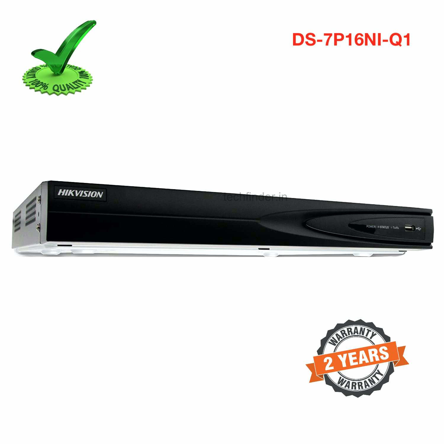 Hikvision DS-7P16NI-Q1 Hdmi 16ch 4k Network video recorder