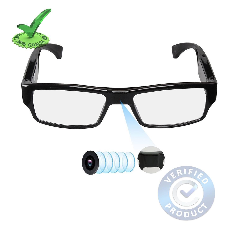 1080p FHD Digital Eyewear Spy Goggles Hidden Camera