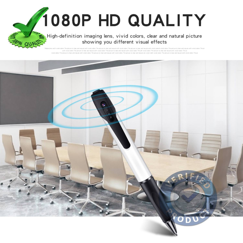 Spy Pen Camera 64GB Support 75min 2k Battery Backup V8
