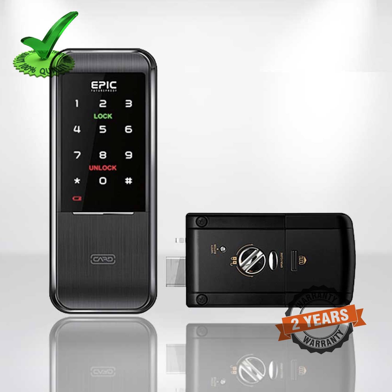 Epic TRIPLEX-3WAY Smart Card & Pin Password Digital Door Lock