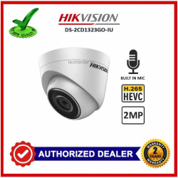 Hikvision DS-2CD1323G0-IU 2mp Digital Ip Ir Dome Camera