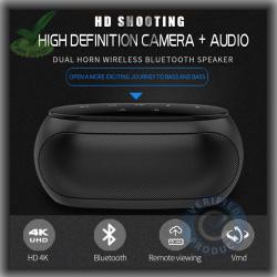 Digital 4k WiFi Spy Hidden Camera with Recorder in Bluetooth Speaker