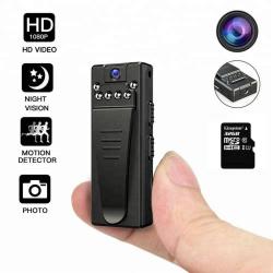 Digital 4K FHD High Resolution Wearable Hidden Portable Spy Camera