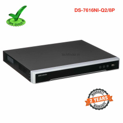 Hikvision DS-7616NI-Q2/16P 16ch POE 4k Network video recorder
